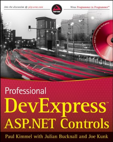Professional DevExpress ASP.NET Controls by Wrox