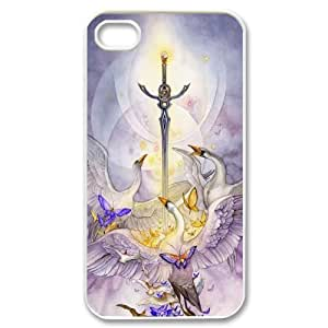 JamesBagg Phone case sword art pattern protective case For Iphone 4 4S case cover FHYY485011