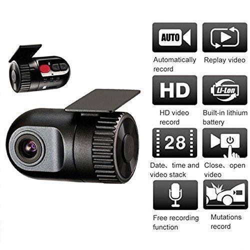 UPC 605034336974, Small HD 720P In Car Dash Camera Video Register Recorder Mini DVR Cam G-sensor CR1004 CR1004