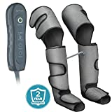 Leg Massager for Circulation - Air Compression Sequential Machine for Home Use - Massage Legs, Calf, Foot, Thighs - SCD Muscle Stimulator Boot Sleeve Wraps for Pain, Restless Leg, Edema, Lymphedema