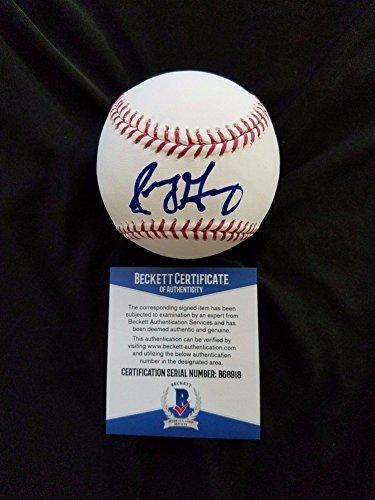 - Sonny Gray Autographed Signature Baseball Bas Beckett New York Yankees Autographed Signature - Authentic MLB Autograph