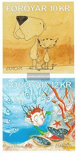 Review Denmark-Faroe Islands 700-701 (complete.issue.)