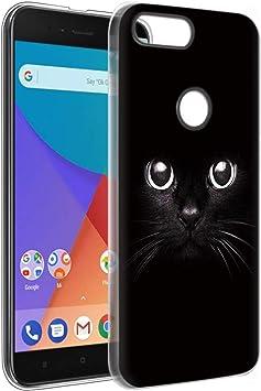 Eouine Funda Xiaomi A1, Cárcasa Ultrafina Silicona 3D Transparente ...
