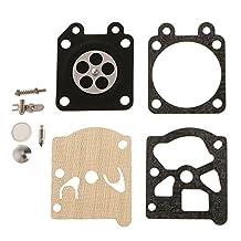 Homyl Gasket Diaphragm Repair Kit for Zenoah G5200 Chainsaw 38/45/52cc Carburetor Power Tool Part