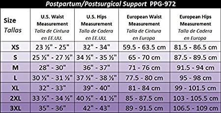 Amazon.com: GABRIALLA Maternity Support Panty with Adjustable Band- Belly Band Panty Girdle PNG-971: Health & Personal Care