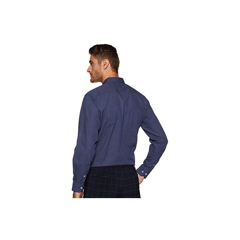 51bVbiZld9L. SS768  - Amazon Brand - Symbol Men's Slim Fit Full Sleeve Cotton Formal Shirt