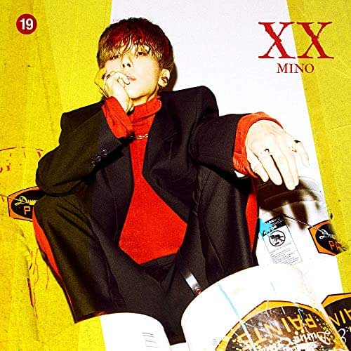 YG Song MIN HO MINO - XX : ' [ver.1] (1st Solo Album) CD+Photobook+Art Book+Stickers+Double-Sided Folded Poster+Extra Photocards Set