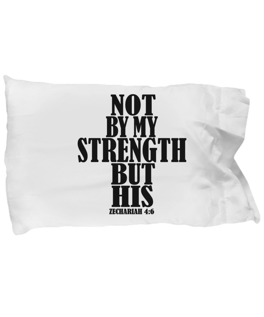 A Family of Readers Inspirational Religious Christian Standard Pillowcase With Bibilical Scripture Verse