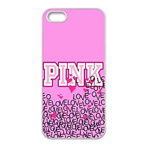 Scholarly Cottage Order Case love pink For iPhone 5, 5S Send tempered glass screen protector LL9WG793152