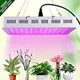 WAKYME 1200W LED Plant Grow Light, Adjustable Full Spectrum Double...