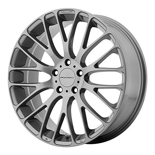 KMC Wheels KM693 Maze Pearl Gray Wheel (20x8.5''/5x108mm, +40mm offset) by KMC Wheels