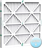 16-3/8x21-1/2x1 Air Filter for Carrier, Bryant and Payne MERV 10, Case of 12