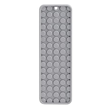 madesmart Small Styling Heat Mat - Grey | VANITY COLLECTION | Heat-Resistant Silicone | Vanity & Countertop Protection | Wrap-around Fold for Travel | BPA-Free