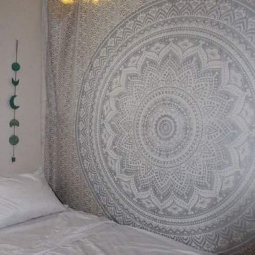 Schädel Tapisserien Multi Color indischen Mandala Tapisserie Wandbehang Dekor