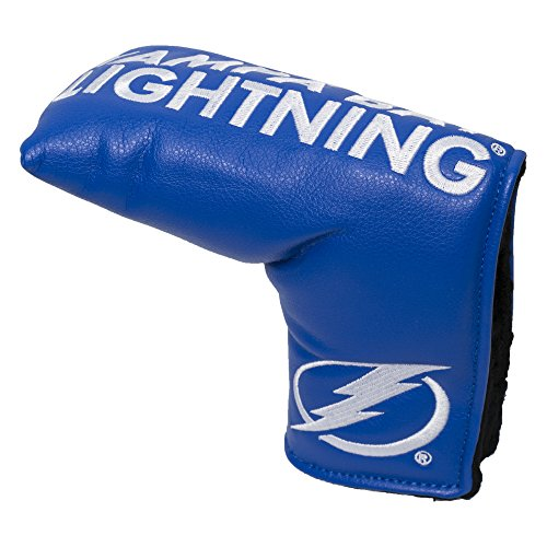 Team Golf NHL Tampa Bay Lightning Golf Club Vintage Blade Putter Headcover, Form Fitting Design, Fits Scotty Cameron, Taylormade, Odyssey, Titleist, Ping, Callaway
