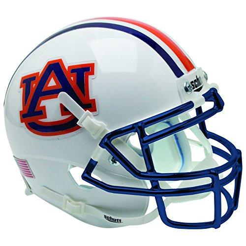 - Auburn Tigers Alternate Chrome Schutt XP Replica Full Size Football Helmet