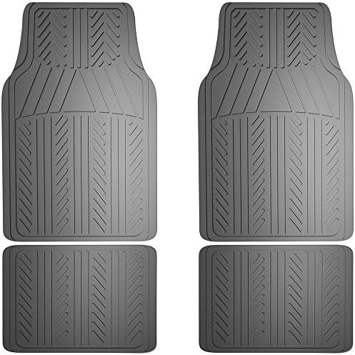 Armor All 78912 4-Piece Grey Basic Rubber Floor Mat