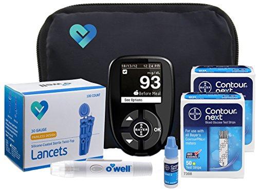 Contour Next Diabetes Testing Kit | Contour Next Blood Gluco