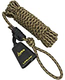 Hunter Safety System Non-Reflective Lifeline with New Cowbell Cover