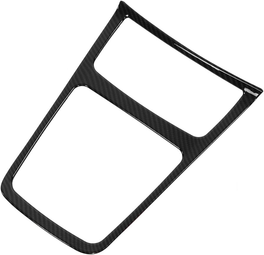 Keenso Center Storage Box Frame Cup Holder Cover for Mercedes Benz A//GLA//CLA Class W176 C117 X156