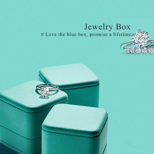 Oirlv Velvet Ring Box Jewelry Gift Case Ring Bearer Box Wedding,Propose by Oirlv (Image #2)