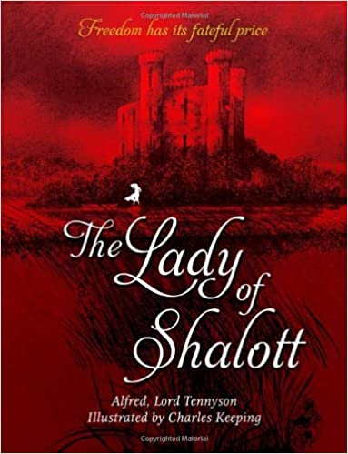 Image result for lady of shalott illustrated by charles keeping