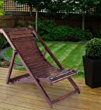 Desi Karigar Folding Relaxing Chair In Sheesham Wood