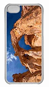 linJUN FENGCustomized iphone 4/4s PC Transparent Case - Desert Arch Personalized Cover