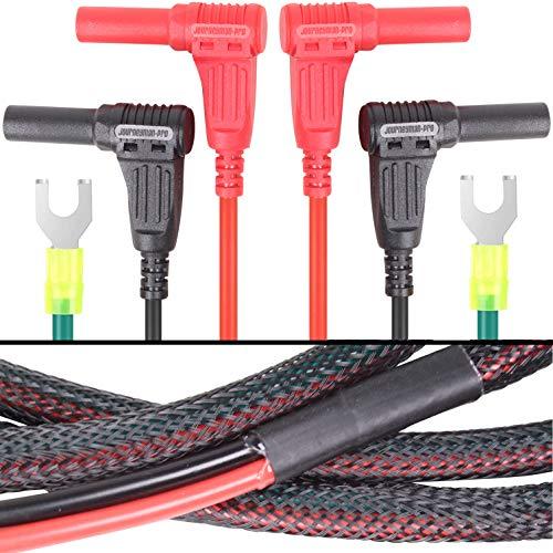 Generator Parallel Cables Kit for Honda Inverter Generators by Journeyman Pro, w/Carrying Case | 30 Amp RV Power Cord Accessories, EU2200i EU2200IC EU1000i EU2000i EU2000i EU3000i (Right Angle 6-FOOT)