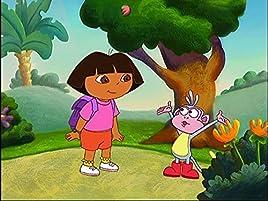 Dora y Boots quieren ir a la Gran Colina Roja a encontrar al legendario Gran Pollo Rojo, ¡pero primero necesitarán tu ayuda para pasar el puente, ...