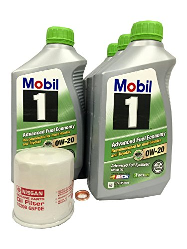 0w20 synthetic oil mobil 5 quart - 2