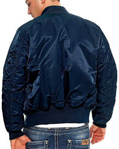 Repl para hombre blue Chaqueta Alpha Industries Pqxzn0If