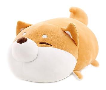 Amazon.com: MathewArt - Almohada de peluche para perro Shiba ...