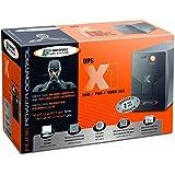 Infosec X1 EX-700 Onduleur 700 VA 2 Prises Schuko/FR 1 Voyant Noir