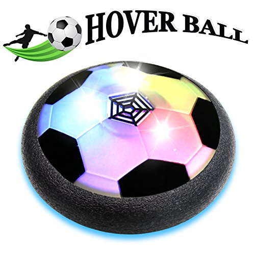 Hover Ball Kids Toy Air Power Soccer Foam Bumper and Lighting of LED Lamp Boys Girls Football Sport Training for Indoor Outdoor Games for VOCOO - Hockey Indoor Games
