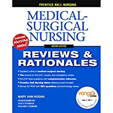 VangoNotes for Prentice Hall Reviews & Rationales: Medical-Surgical Nursing, 2/e Audiobook by Mary Ann Hogan, Stacy Estridge, Dolores Zygmont Narrated by Dennis Holland, Maria Hickey