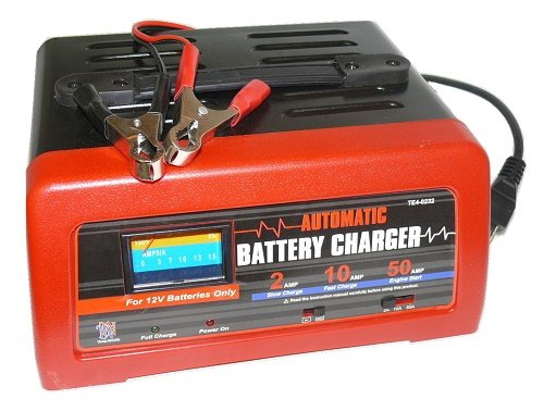 12V battery charger with 2amp slow charger - 10 Amp Fast Charger and More
