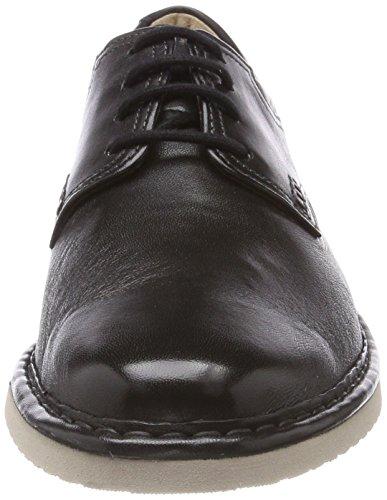 Sioux Mannen Herlof-702-xl Derby, Zwart (zwart)