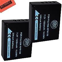 BM Premium 2-Pack of NP-W126 Batteries for Fujifilm FinePix X-Pro1, X-Pro2, HS30EXR, HS33EXR, HS35EXR, HS50EXR, X-A1, X-A2, X-E1, X-E2, X-E2S, 1 X-M1, X-T1, X-T10 Digital Camera