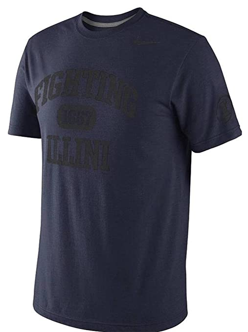 b89c922725f Amazon.com   Illinois Fighting Illini School Tribute Tri-Blend T ...