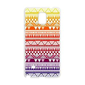 Samsung Galaxy Note 4 Cell Phone Case White Anchor Pattern 001 HIV6755169547425