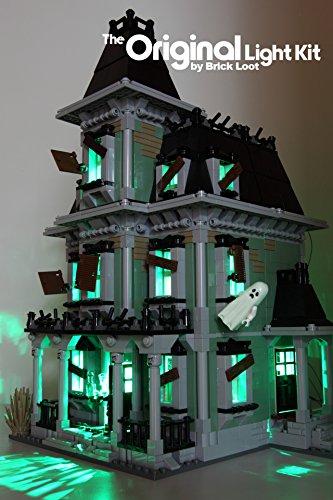 Monster Kit - Brick Loot Monster Haunted House Lighting Kit for set 10228