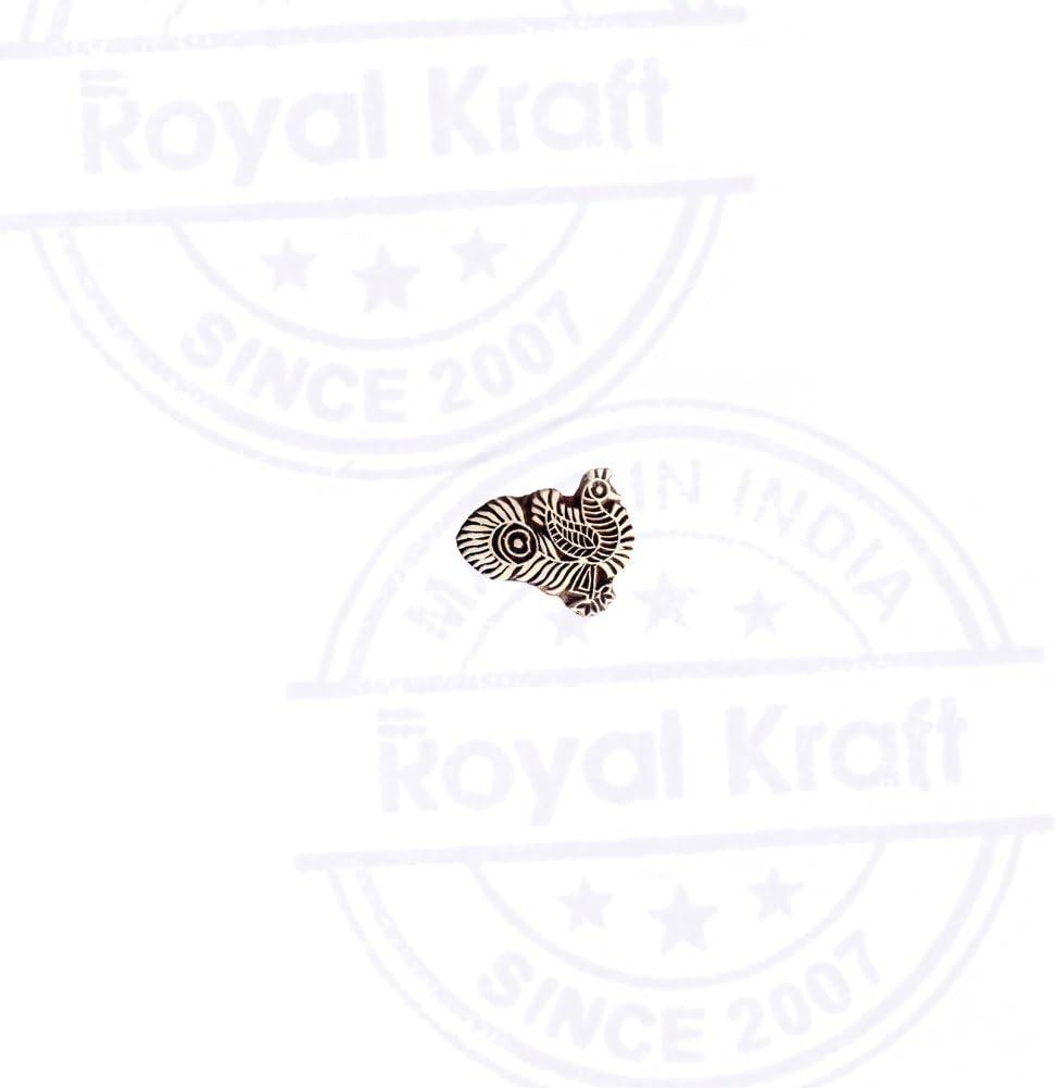 DIY Henna Fabric Textile Paper Clay Pottery Block Printing Stamp Jaipuri Pigeon Bird Design Block Print Wood Stamp