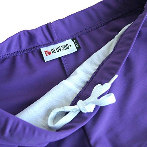 Iq-Company UV Kleidung 300 Hot Pants - Traje de baño Morado