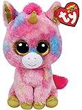 TY Beanie Boos - FANTASIA the Unicorn (Glitter Eyes) (LARGE Size - 17 inch)