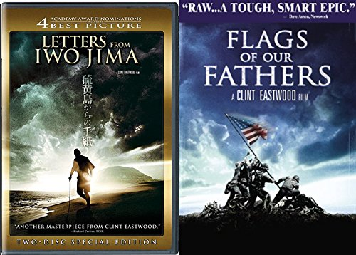 Gran Prix Collection (Clint Eastwood Flags of our Fathers & Letters from Iwo Jima Special Edition 2 Disc DVD Pack Movie Set)