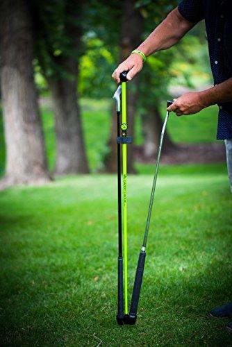 big-daddy-caddie-golf-club-stand-professionally-manage-your-clubs-around-the-greens-lite-weight-fibr