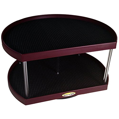 Stow n Spin Kitchen Cabinet Organizer Turntable