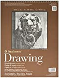 drawing smooth paper - Strathmore 400 Series Smooth Surface Drawing Pads, 11 x 14 Inches, 24 Sheets per Pad (ST400-105)