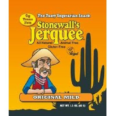 Stonewall's Jerquee, Original Mild, 1.5-Ounce Packets (Pack of 8)